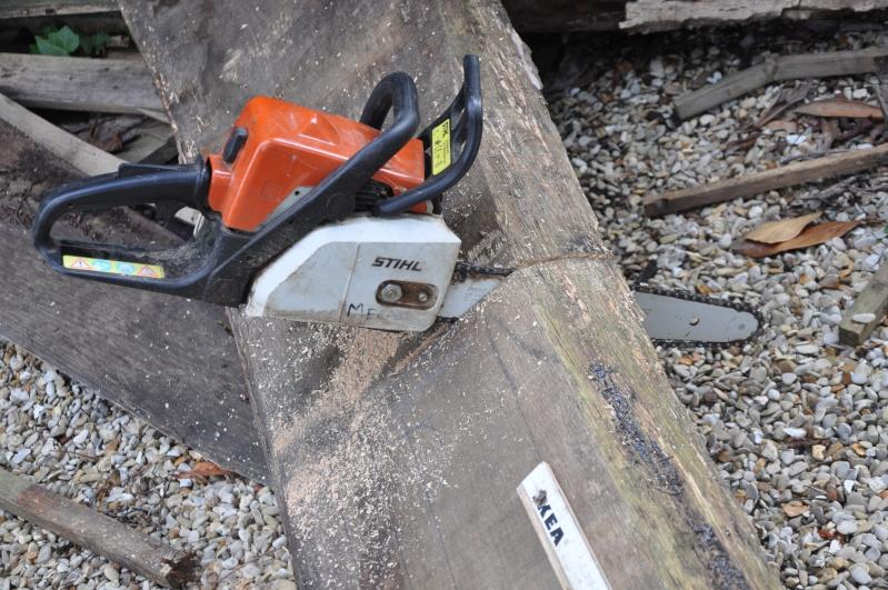 Fabrication d'un plateau  en bois pour table de bistrot Platea13