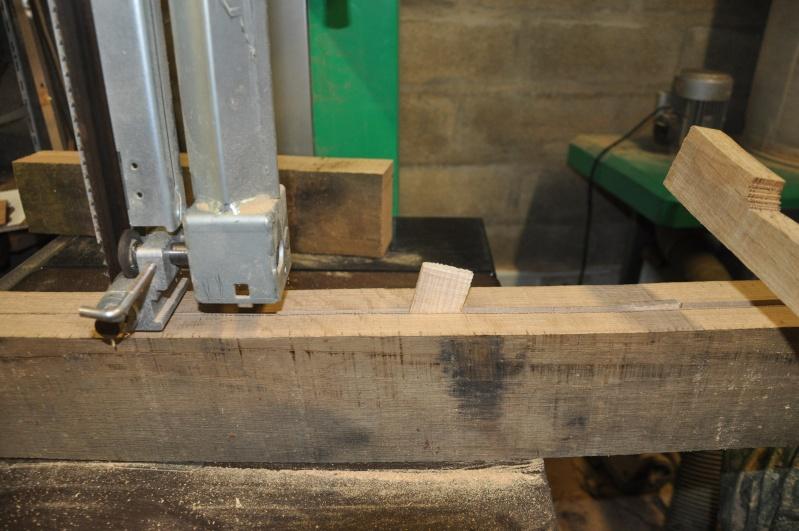 Fabrication d'un plateau  en bois pour table de bistrot Platea17