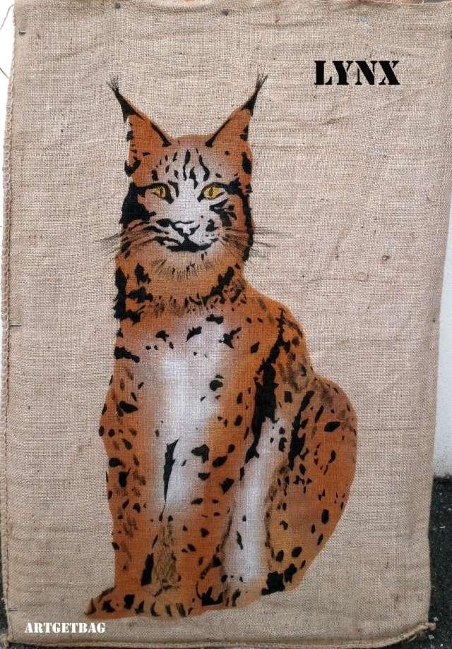 Cible sac en toile - Page 3 Lynx10