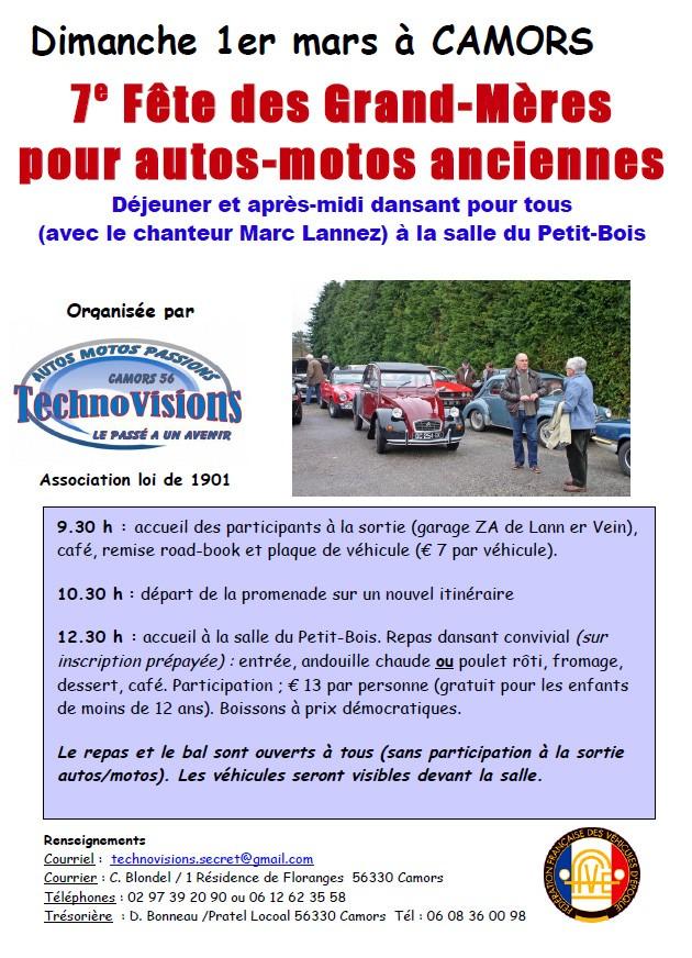 7ème Fête des Grand-Mères pour autos-motos anciennes Fdgm2010