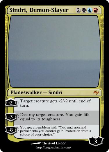 Characters - MtG Sindri10