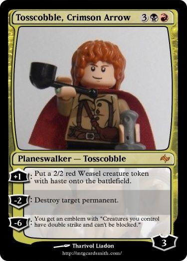 Characters - MtG Tossco10