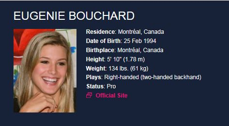 EUGENIE BOUCHARD (Canadienne) - Page 4 Genie_10
