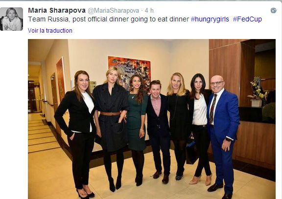 FED CUP 2015 : Groupe Mondial - Page 3 Maria210