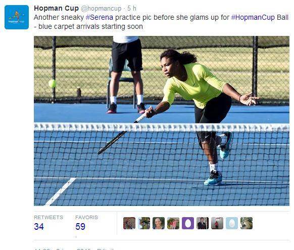 LA HOPMAN CUP 2015 - Page 3 Serena11