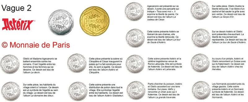Nouvelles pieces 10€ argent Asterix Asteri14
