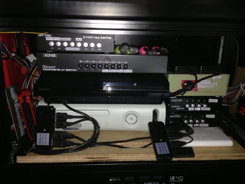 Mes bornes d'arcade : Sega Blast City MAJ 24/05/13 seconde borne Delta 32 RS HD - Consolisation MVS/AW - Page 3 Img_1314