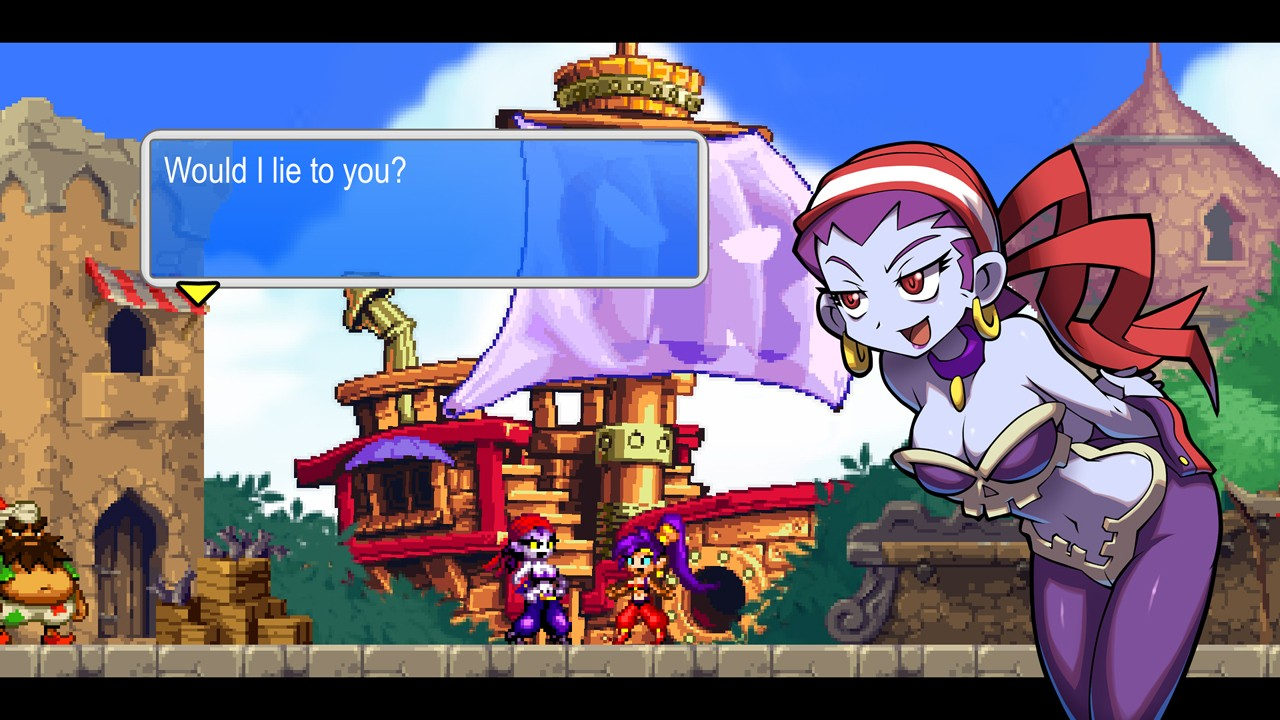 Review: Shantae and the Pirate's Curse (Wii U eShop) Wup-n_12