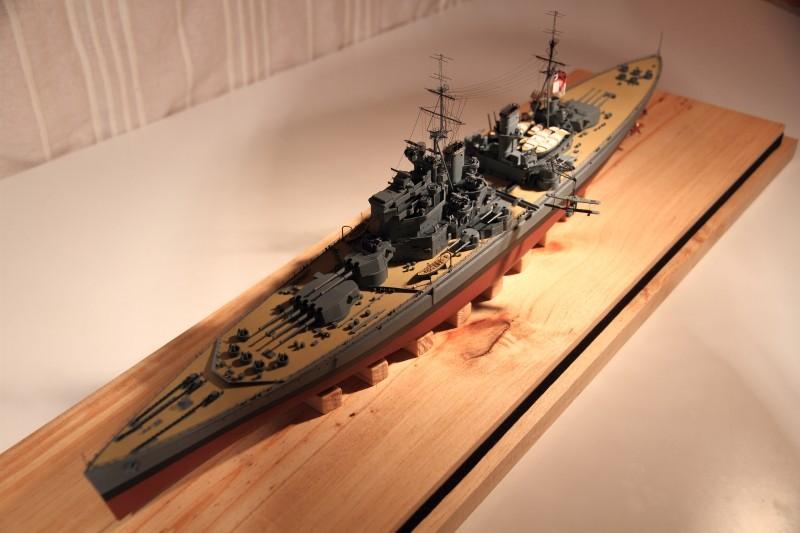 HMS King George V 1941 1/400e kit Heller Img_8510