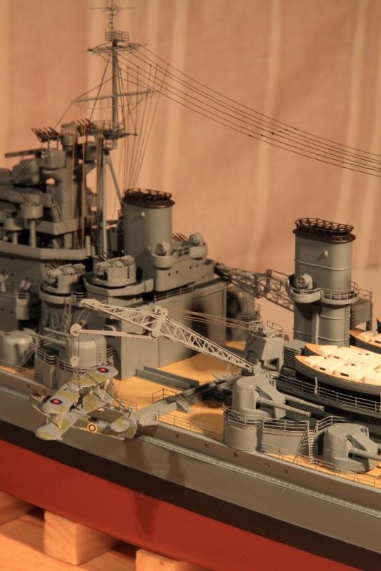 HMS King George V 1941 1/400e kit Heller Img_8612