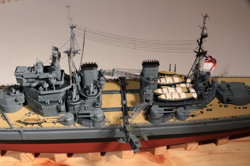 HMS King George V 1941 1/400e kit Heller Img_8614
