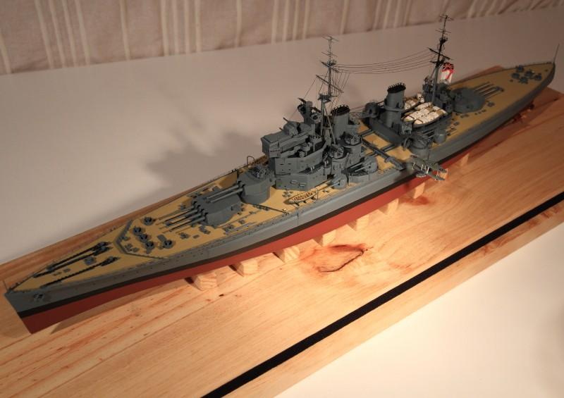 HMS King George V 1941 1/400e kit Heller Img_8615