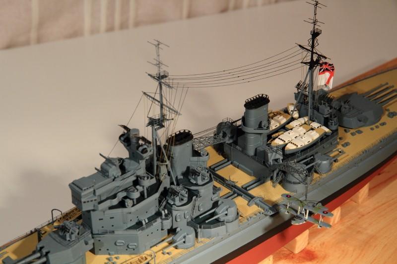 HMS King George V 1941 1/400e kit Heller Img_8617