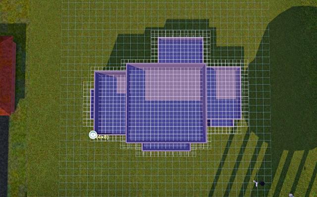 [Débutant]Partie 1 - Du carré à la maison traditionnelle Basiqu30