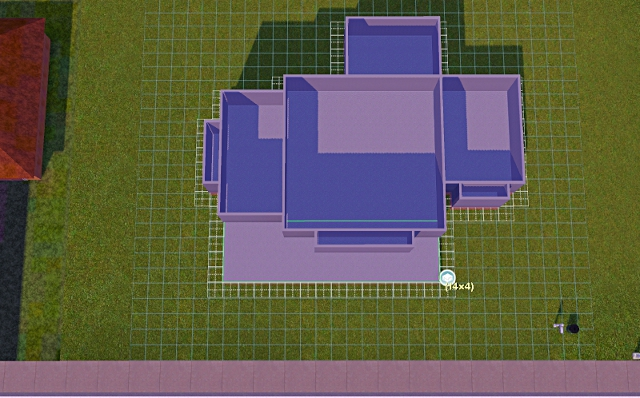 [Débutant]Partie 1 - Du carré à la maison traditionnelle Basiqu34