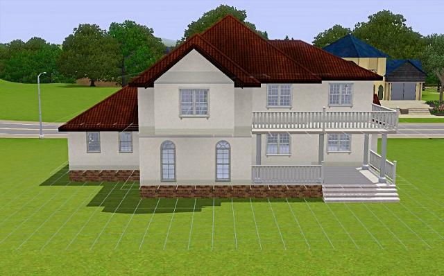 [Débutant]Partie 1 - Du carré à la maison traditionnelle Basiqu68