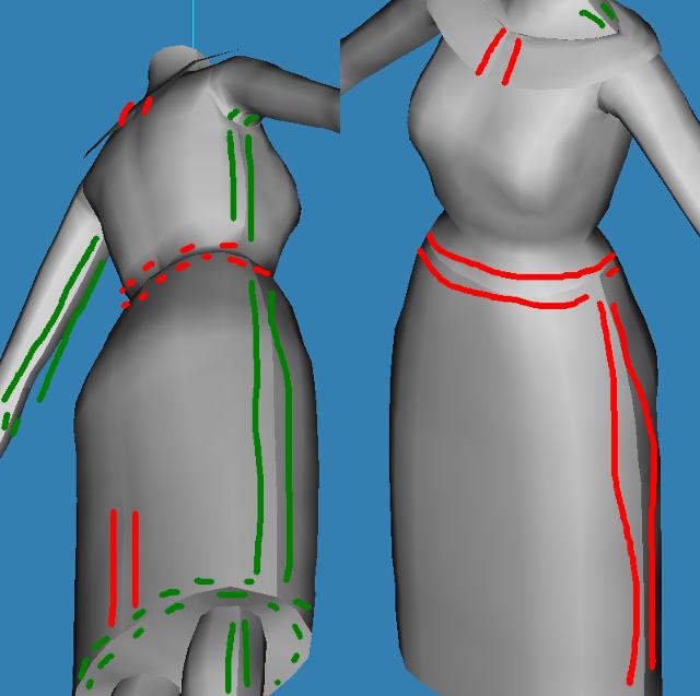 [Confirmé]Extrude : pour ajouter du relief à vos meshes de vêtements Fig6310