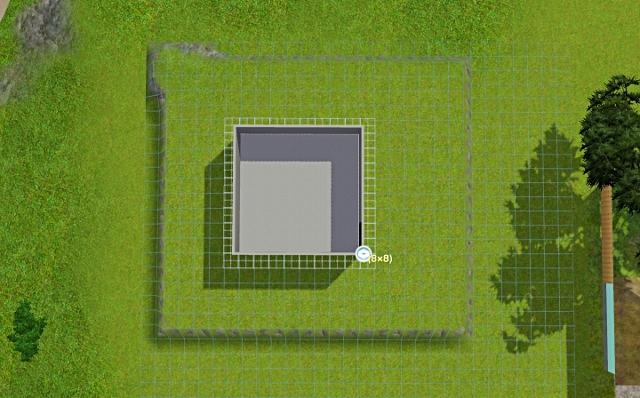 [Débutant] - Du carré à la maison victorienne - La maison sur la colline Victor15