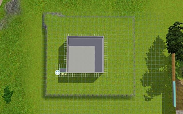 [Débutant] - Du carré à la maison victorienne - La maison sur la colline Victor16