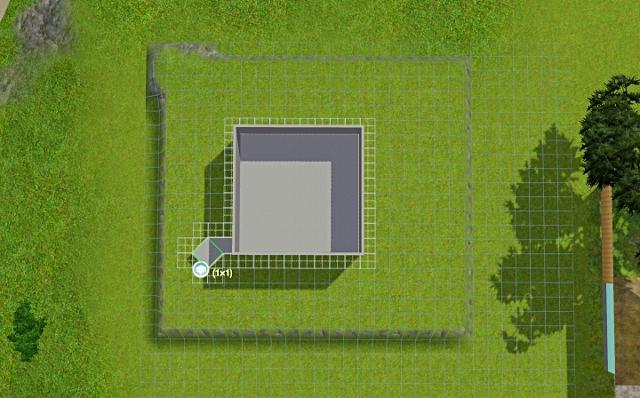 [Débutant] - Du carré à la maison victorienne - La maison sur la colline Victor17