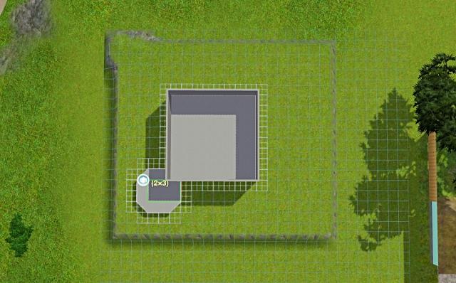 [Débutant] - Du carré à la maison victorienne - La maison sur la colline Victor20