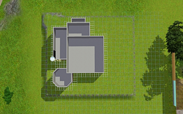 [Débutant] - Du carré à la maison victorienne - La maison sur la colline Victor26