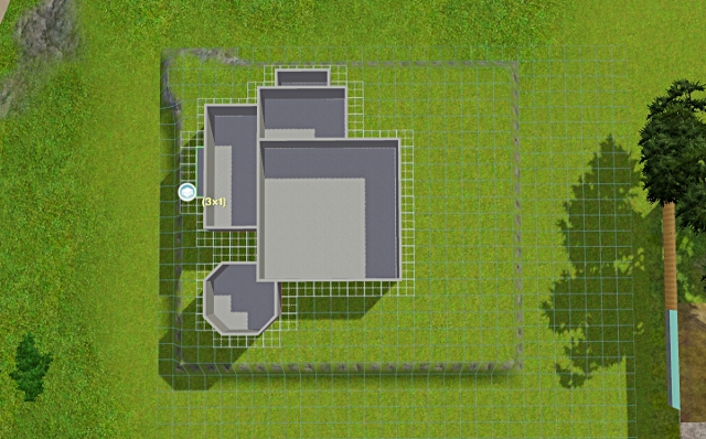 [Débutant] - Du carré à la maison victorienne - La maison sur la colline Victor27