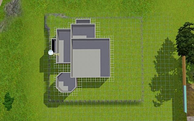[Débutant] - Du carré à la maison victorienne - La maison sur la colline Victor28