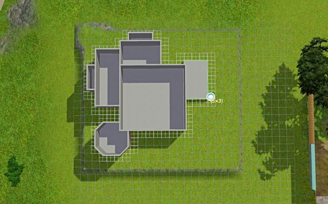 [Débutant] - Du carré à la maison victorienne - La maison sur la colline Victor29