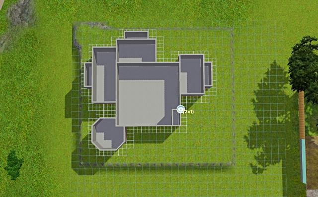 [Débutant] - Du carré à la maison victorienne - La maison sur la colline Victor33