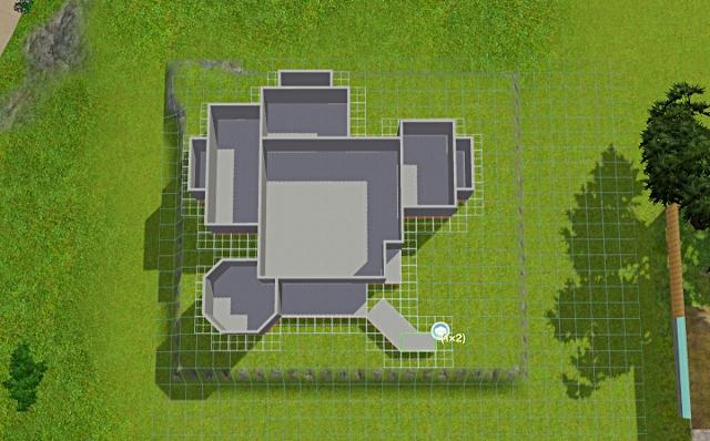 [Débutant] - Du carré à la maison victorienne - La maison sur la colline Victor39