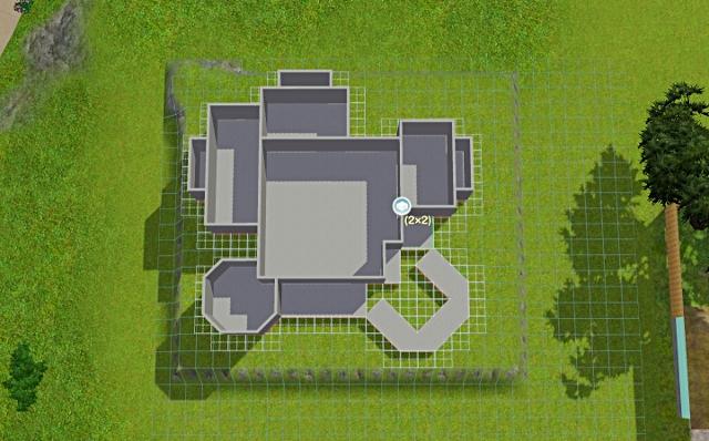 [Débutant] - Du carré à la maison victorienne - La maison sur la colline Victor41