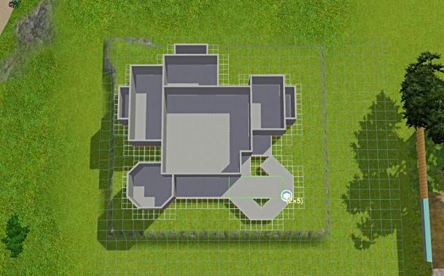 [Débutant] - Du carré à la maison victorienne - La maison sur la colline Victor42