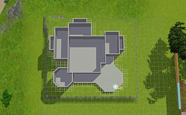 [Débutant] - Du carré à la maison victorienne - La maison sur la colline Victor43
