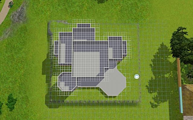 [Débutant] - Du carré à la maison victorienne - La maison sur la colline Victor45