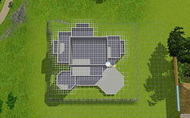 [Débutant] - Du carré à la maison victorienne - La maison sur la colline Victor46