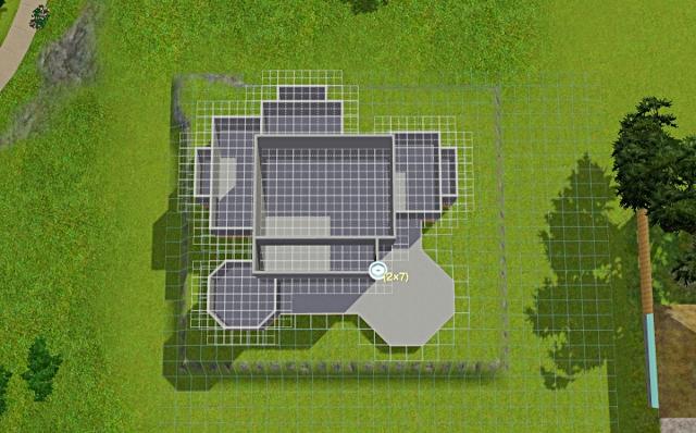 [Débutant] - Du carré à la maison victorienne - La maison sur la colline Victor47