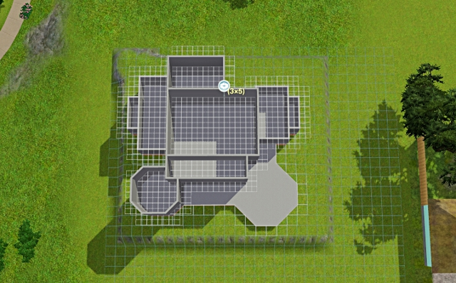 [Débutant] - Du carré à la maison victorienne - La maison sur la colline Victor49