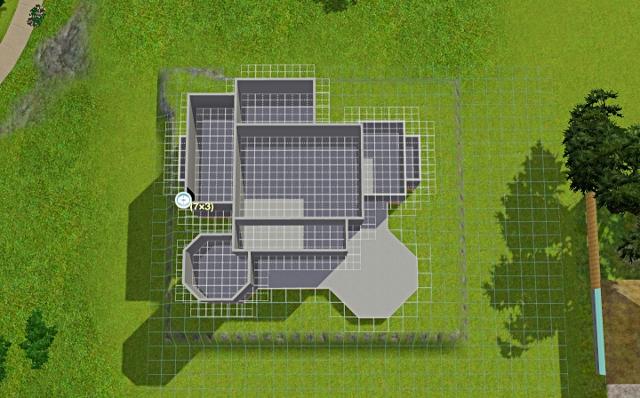 [Débutant] - Du carré à la maison victorienne - La maison sur la colline Victor50