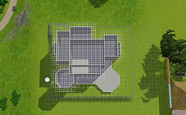 [Débutant] - Du carré à la maison victorienne - La maison sur la colline Victor52