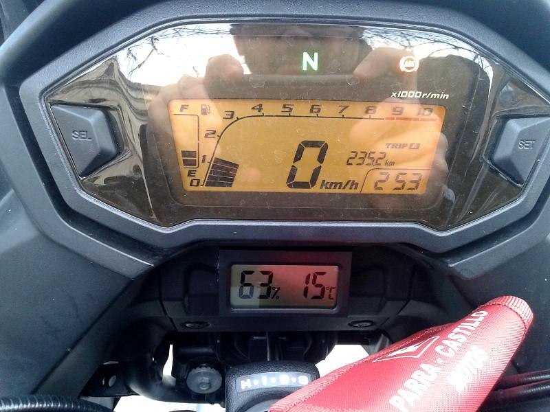 Y yo sigo con la manía de los termómetros... 20150111