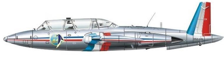 Fouga Magister CM170 Patrouille de France 1965 21_710
