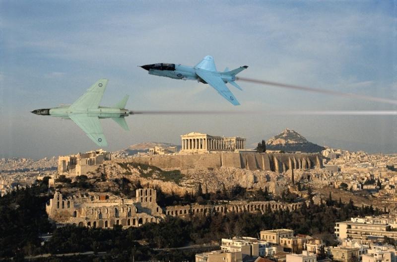 Un géant vert redoutable [Vought F-8 P Crusader Academy 1/72] Athene10