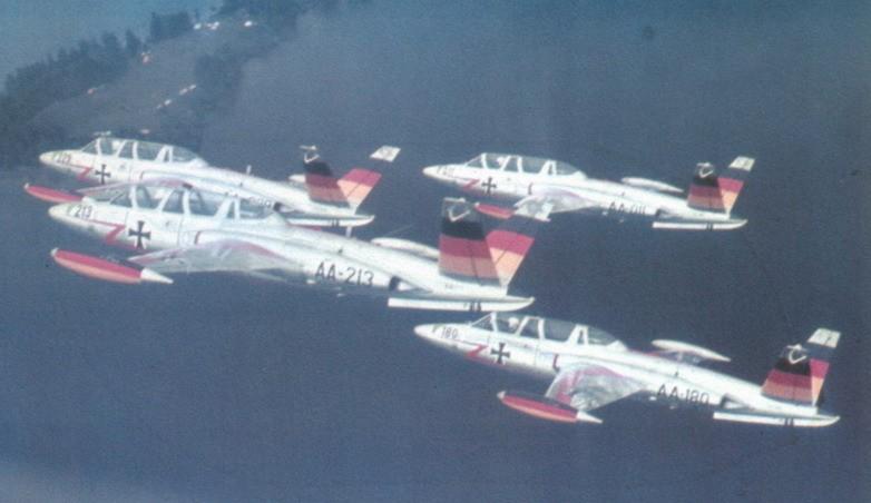 Fouga Magister CM170 Patrouille de France 1965 Ffs-ac10