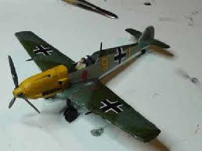 BF 109 E4 E7 (airfix) Images11