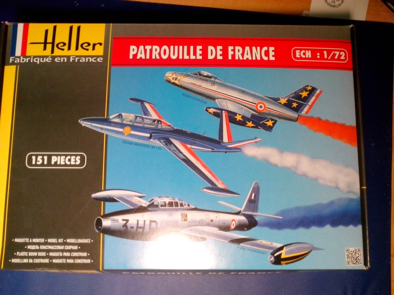 Fouga Magister CM170 Patrouille de France 1965 Img_2161