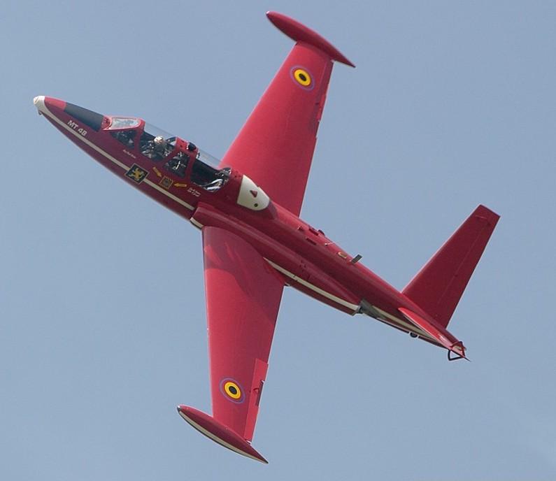 Fouga Magister CM170 Patrouille de France 1965 Red-de10
