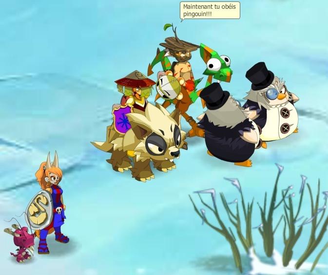 Maintenant tu obéis pingouin !!! Ping10