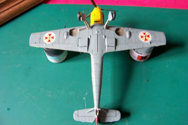 Me 109 E4 (Airfix 1/48) 1939 (Fini) - Page 2 100_8916