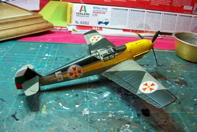Me 109 E4 (Airfix 1/48) 1939 (Fini) - Page 2 100_8924